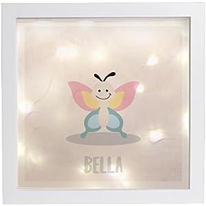 Leuchtrahmen Nachtlicht Wandlicht Lightbox Dreamchen Schmetterling
