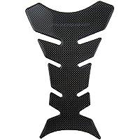 Pro Grip - Protector de fibra de carbono para tanque, color negro