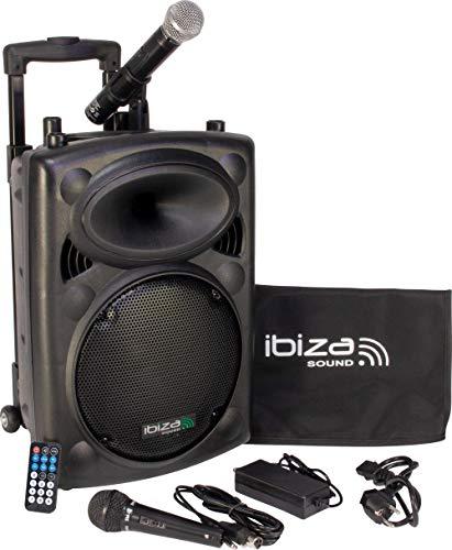 Ibiza PORT10VHF-BT - Sistema sonido port?til aut?nomo