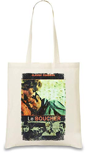 Die Metzger-Film-Serienmörder-Liebe - The Butcher Movie Serial Killer Love Custom Printed Tote Bag| 100% Soft Cotton| Natural Color & Eco-Friendly| Unique, Re-Usable & Stylish Handbag For Every Day