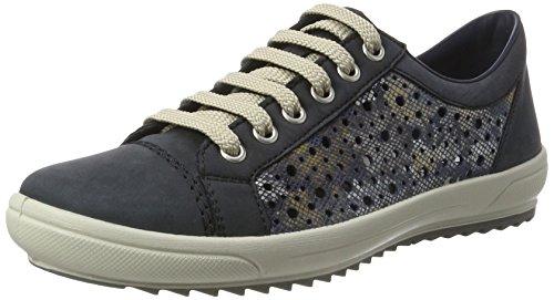 Rieker Damen M6015 Sneakers, Blau, 37 EU
