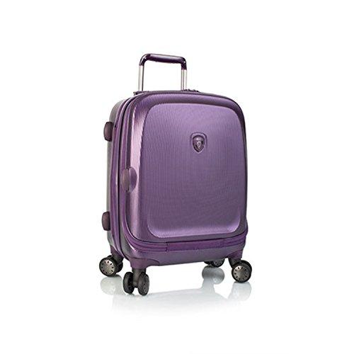 ... 50% SALE ... PREMIUM DESIGNER Hartschalen Koffer - Heys Crown Smart Gateway Lila - Handgepäck Lila
