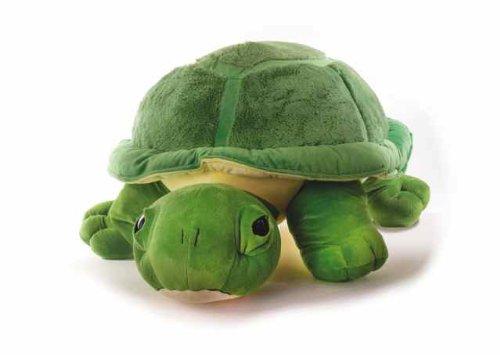 Inware 6964 - Kuscheltier Schildkröte Chilly, 27 cm, grün, Kuschelschildkröte, Schmusetier Schildkröte Stofftier