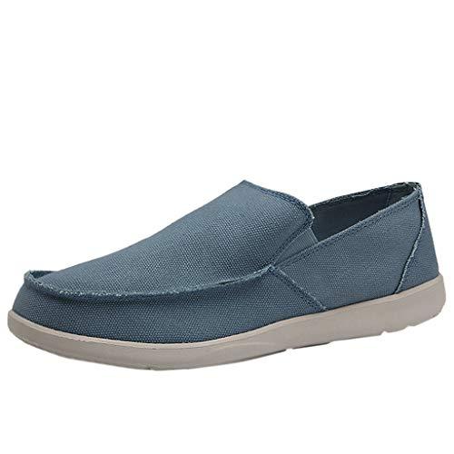 Tubular Deck (TWISFER Herren Loafer Canvans Slip on Sneakers Boot Deck Classic Low Top Fashion Schlupfschuhe Bequeme Schuhe)