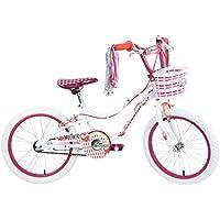 "Schwinn Girls' Mythic Unicorn Kids Bike, White, 18"" (Age 5+)"