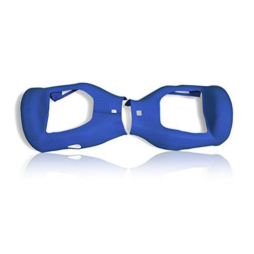 Preisvergleich Produktbild Scooter Hoverboard Silikon Schutzhülle JUYUAN-EU für 6,5 Zoll Smart Self Balancing Elektro Skateboards Dunkel Blau
