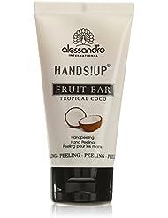 alessandro Hands Spa Fruit Bar Handpeeling Tropical Coco, 1er Pack (1 x 50 ml)