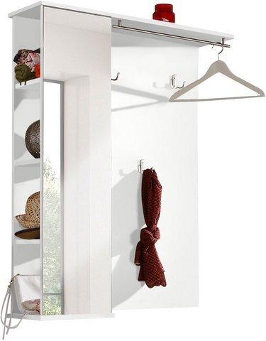 Schildmeyer 127869 Garderobe, 90 x 113 x 24,5 cm, weiß