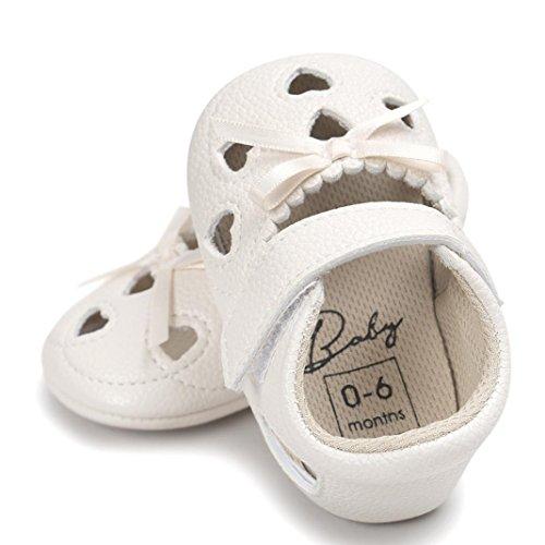 Clode® Baby Mädchen Höhle aus Sandalen Schuh Casual Schuhe Sneaker Anti-Rutsch Soft Schuhe Beige