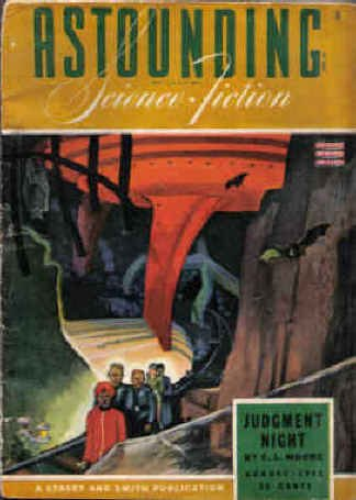 Astounding Science Fiction, Vol. 31, No. 6 (August, 1943)