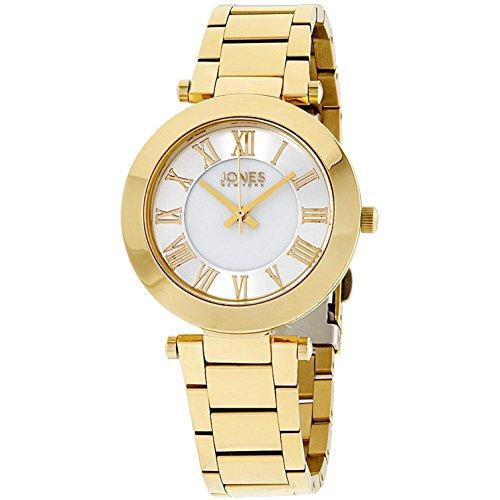Jones New York Damen-Armbanduhr 34mm Armband Edelstahl Quarz 11794G528-005