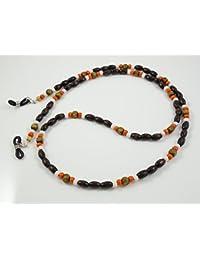 Gafas Banda/cadena de gafas de cuentas de madera
