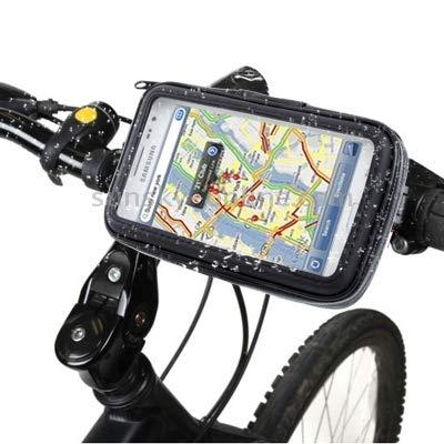 Xiaochou@sl Convient pour l'installation d'une poignée de Bicyclette et d'une boîte Tactile à 360 degrés, à Coque Dure et imperméable Tout Temps, en PU sécurité