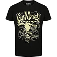 Gas Monkey Garage T-Shirt Blood, Sweat & Beers Hand & Spanner
