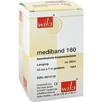 MEDIBAND 160 Langzugbinde 10 cmx7 m hautfarben 1 St Binden preisvergleich bei billige-tabletten.eu