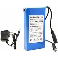 DC 12680 Portable 6800mAh pour DC 12V Super Commutateur rechargeable Batterie au lithium-ion Connecteur US / EU pour caméras Caméscopes