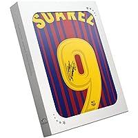 Exclusive Memorabilia - Camiseta de fútbol firmada por Luis Suarez en Caja  de Regalo ffb44c40a6033