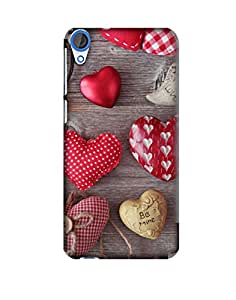 Pick Pattern Back Cover for HTC Desire 820