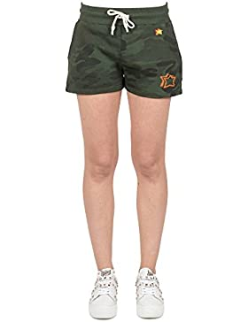 Atlantic Stars Shorts donna AWS1809 colore Militare