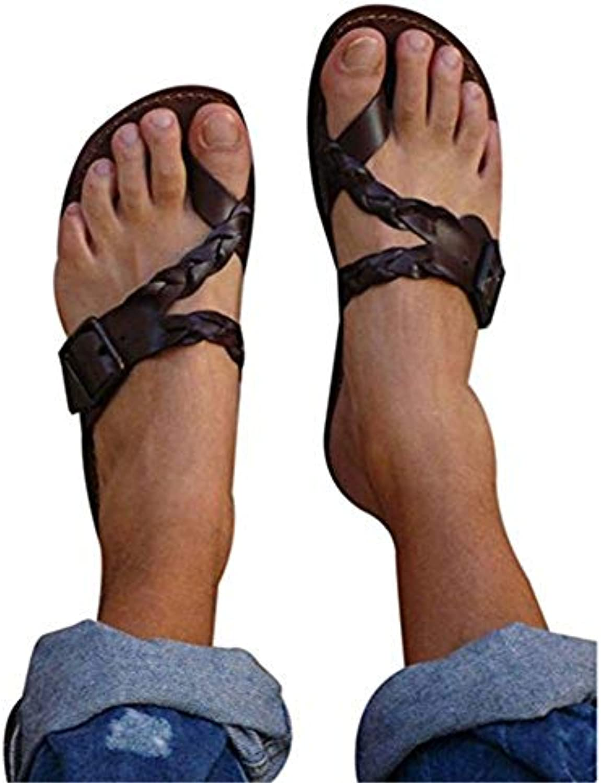 21a2bbfd9da9 Discovery Women Flip Flip Leather Flat-Toe Flat Beach Sandals Open  abek-30596 Toe Spanish Sandals Beach Flop Casual Summer Shoes B07DW92PV7  Parent 9777c13 ...