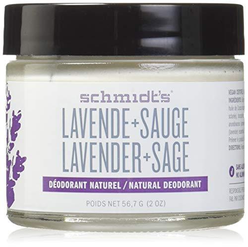 Lavanda + Sage, 2 oz 56,7 g - Desodorante Schmidt
