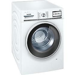 Siemens WM6YH840 iQ800 Home Connect Stand Waschmaschine Weiß Waschvollautomat Frontlader iQdrive