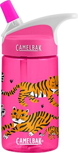 CAMELBAK Kinder Eddy Kids 0.4L Trinkflasche Wasserflaschen, Tigers, 400ml