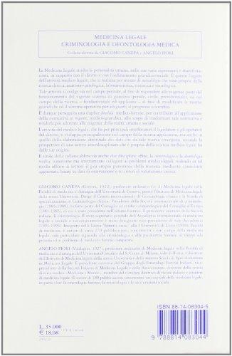 La violenza sessuale. Aspetti giuridici e medico-legali (Medicina leg. criminologia deontol. med.)