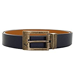Puma Mens Leather Belt (4056207740948_5300503_Brown)