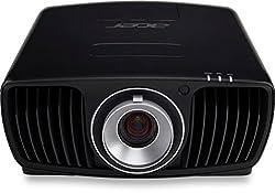 Acer V9800 DLP Projektor (Native 4k UHD 3840 x 2160 Pixel, Kontrast 1.000.000:1, 2.200 ANSI Lumen) schwarz