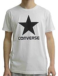 CONVERSE t-shirt homme m / c 10004886-A02 T-SHIRT SS CREW LOGO MODERNE