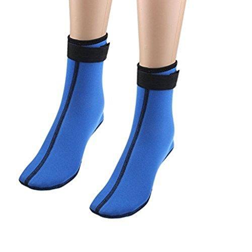 Edealing 1PAIR 3MM Neoprene Diving Scuba surfen schwimmen Socken Wassersport Schnorcheln Stiefel