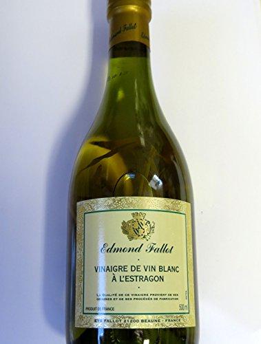 Weißweinessig mit Estragon – Edmond Fallot – 500ml – MADAVANILLA