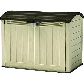 keter 17199414 aufbewahrungsbox store it out ultra keter fahrradbox aufbewarhungsbox. Black Bedroom Furniture Sets. Home Design Ideas