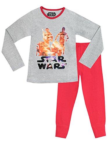 Star Wars Mädchen Star Wars Schlafanzug 140cm (Mädchen Aus Star Wars)