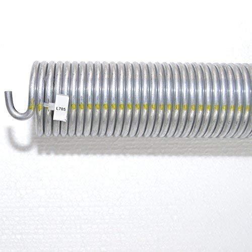 1 Stück Torsionsfeder L705 / L25 für Hörmann Garagentor Garagentorfeder Torfeder