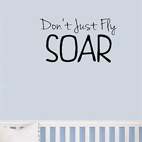 d0ab9335ae0091 pegatinas de pared star wars Don T Just Fly Soar Cute Magical For Nursery  Sala