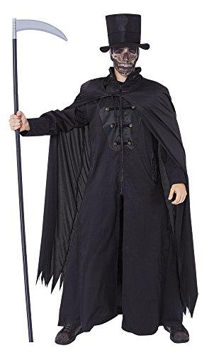 Kostüm Deguisement Homme - Rubie's Rubies-S8339-Kostüm Erwachsene Herren Tod-Cape/Hut-Einheitsgröße