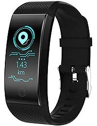 GBVFCDRT Digital Smart Watch Hombres Mujeres Impermeable Podómetro Monitor de Ritmo Cardíaco Fitness Banda de Reloj