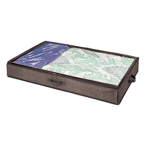 MDesign Cajón debajo cama - Caja organizadora tapa