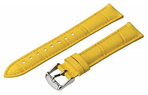 jaune-style-crocodile-en-cuir-bande-de-montre-24mm-broches-dgagement-rapide-avec-boucle-en-acier-ino