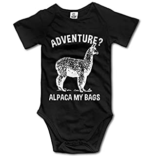 Cangnan JDFIF FJFS Newborn Baby Outfit Creeper Short Sleeves Bodysuits - Adventure Alpaca My Bags