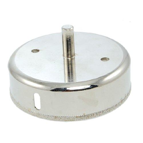 Sourcingmap Metall Lochsäge mit Diamant Spitze für 100mm Glas silber, a11072600ux0003