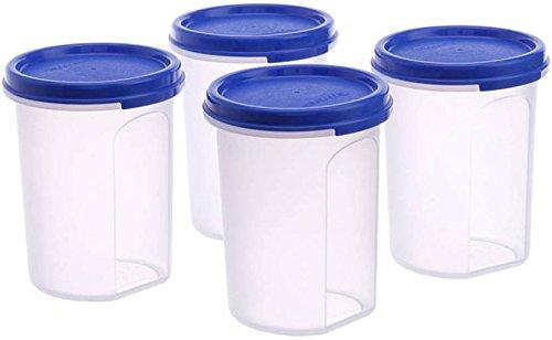 Tupperware Plastic Container Set, 440ml, Set of 4, White