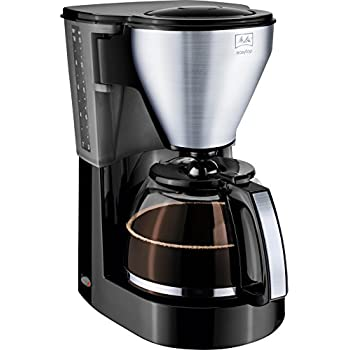 melitta easy top filter coffee maker black