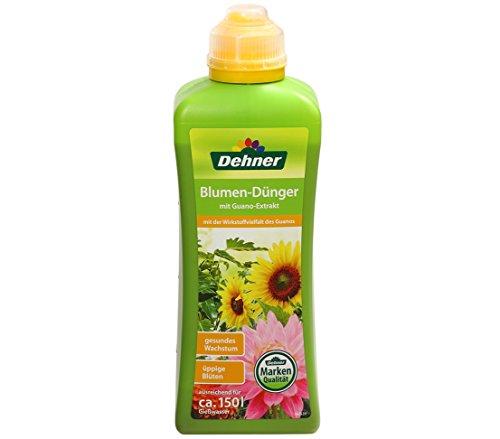 Dehner Blumen-Dünger mit Guanoextrakt, 1 l , für ca. 150 l