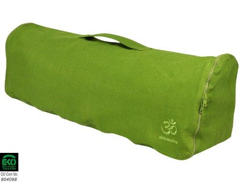Rucksack Yogamatte Chic und Cool, 100% Bio-Baumwolle, 82 x 17 cm, grün