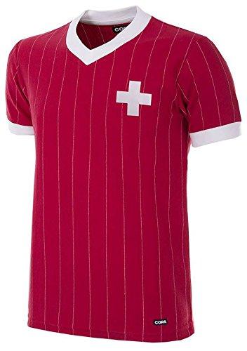 Copa Schweiz Retro Trikot 1982 rot rot, S