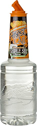 Finest Call Premium Triple Sec Syrup / Sciroppo for Cocktails 1 x 1 Litre