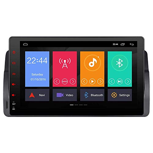 """Autoradio 9\"""" LCD Android 8.1/8.0 2GB RAM Auto Stereo Audio Radio GPS in Dash Navigation für BMW E46 M3 325 3er 318 320 Rover75 Kapazitive Touch Screen OBD2 Bluetooth 5.0 DAB+ RDS WiFi 4G LTE AUX"""